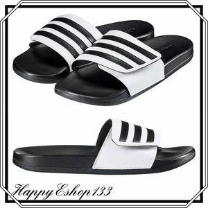 Adidas Womens Unisex Adilette Comfort Slide Sandal